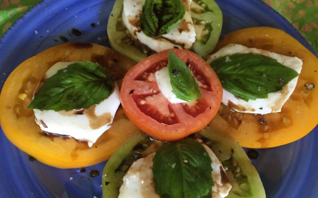 Heirloom Caprese Salad