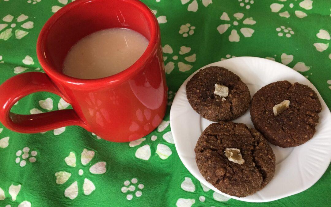 Triple Ginger Butternut Squash Molasses Cookies