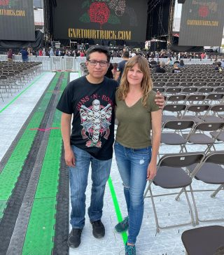 First concert in years!So excited!Guns n Roses baby!