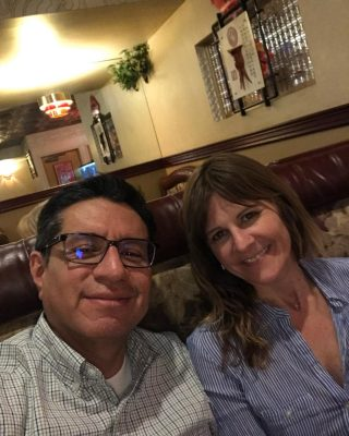 Six years ago, we met at an Indian restaurant in Cherry Creek for our first date. And, we are still dating- this time at a Chinese restaurant on S. Broadway. God is the best matchmaker. ❤️   #stayclassy   #elecuatorianoylaholendesa